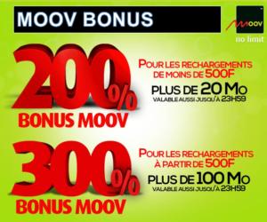 CENTRAFRIQUE: MOOV RCA COMMUNIQUE